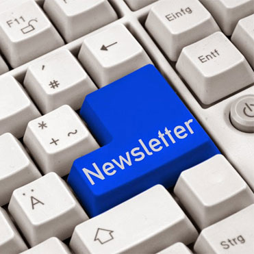 cover for newsletter sign up